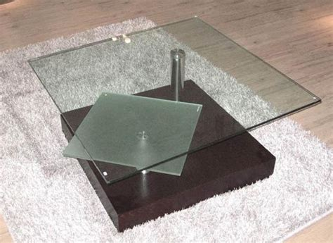 square glass top contemporary coffee table henderson