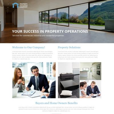 Property Management Website Templates Templatemonster Property Management Website Templates