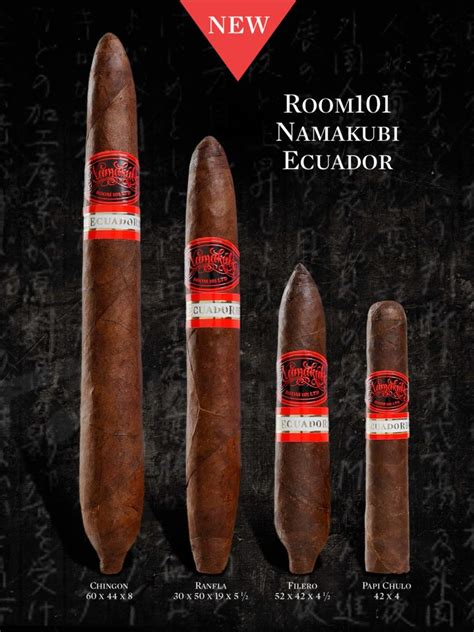Room 101 Cigars Namakubi by Assessment Update Room 101 Namakubi Ecuador Ranfla
