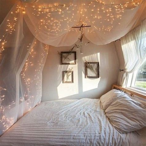 starry bedroom canopy above bed with lights bedroom ideas pinterest