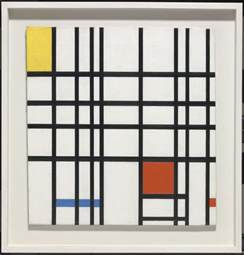 Good Home Design Blogs by Composition With Yellow Blue And Red Piet Mondrian Tate