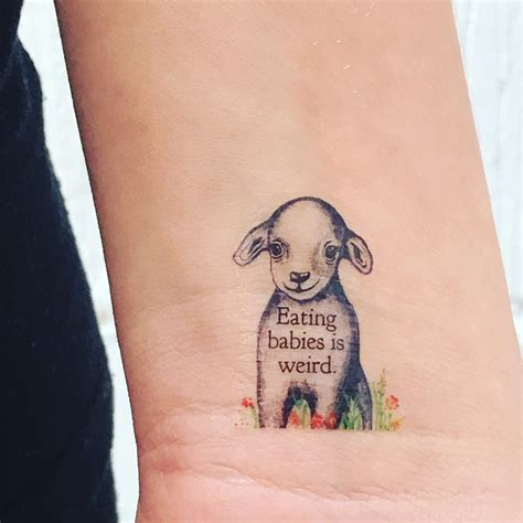 vegan tattoo review of temporary tattoos from things i care about