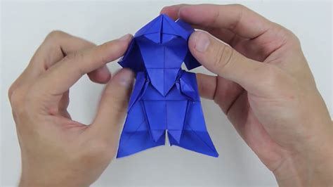 How To Make Origami Darth Vader Step By Step - darth vader a step by step origami tutorial