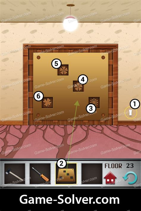 100 Floors 2013 Level 23 Walkthrough by 100 Floors Level 23 Solver