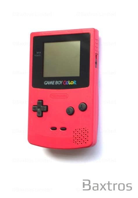 nintendo gameboy color nintendo boy color held console baxtros
