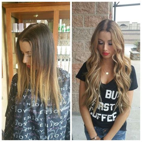 hair extensions before and after with natural beaded rows before and after 22 inch natural beaded row extensions and