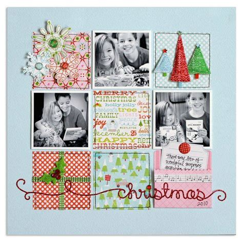scrapbook layout ideas 5 photos 5 beautiful christmas scrapbook layout ideas