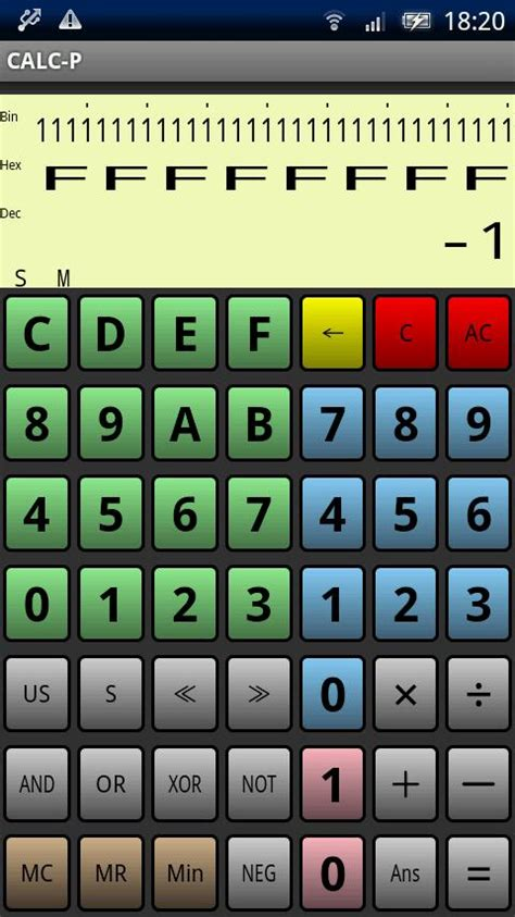 calculator programmer programmer s calculator calc p android apps on google play