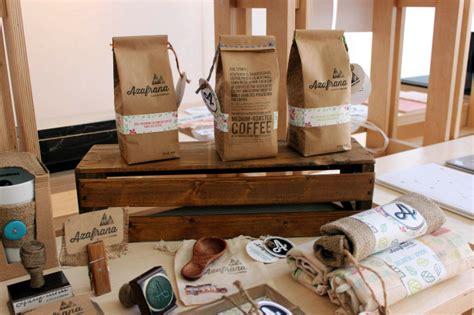 coffee shop packaging design azafrana tatiana alzate