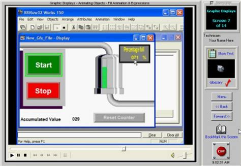 hmi design engineer job description rsview32 hmi training software control engineering projects
