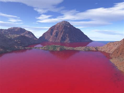 amazing places in america theveergorkha incredible blood red lake of texas in america