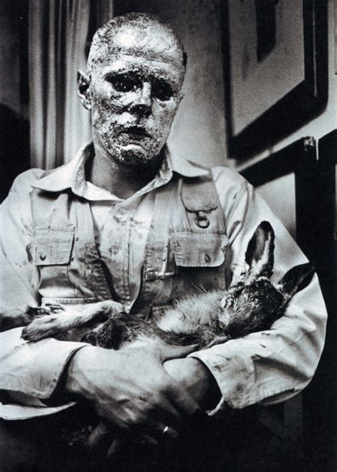How To Find Dead How To Explain Pictures To A Dead Hare 1965 Joseph Beuys Wikiart Org