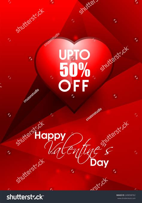 happy valentines day handsome happy valentines day greeting beautiful stock vector