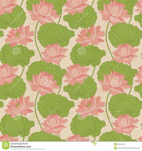 free lotus background pattern seamless wallpaper pattern with lotus stock illustration
