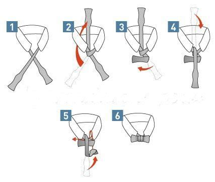 printable directions how to tie a tie how to tie a bow tie vittorio menswear tuxedo