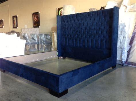 blue upholstered bed 154 best images about custom upholstered beds headboards