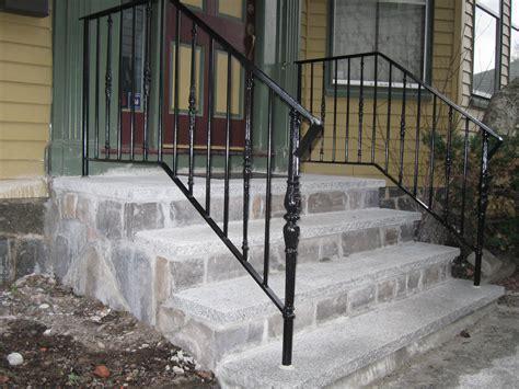 best exterior metal handrails images decoration design