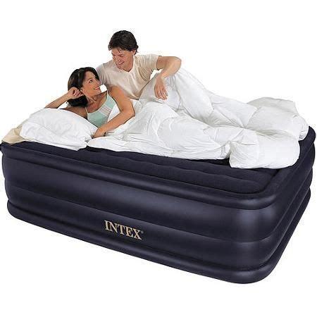jan walmartcom intex queen  rising comfort