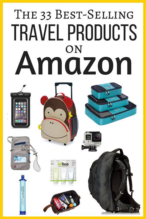 amazon travel essentials the 33 best selling travel products on amazon