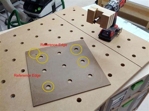 Idea For Mft Hole Drilling Template Festool Pinterest 목공 Mft Drilling Template