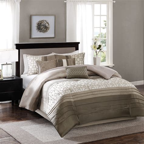 madison park comforter sets madison park bradford 7 piece comforter set