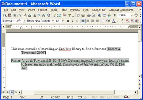 endnote x a start tutorial 3 write cite