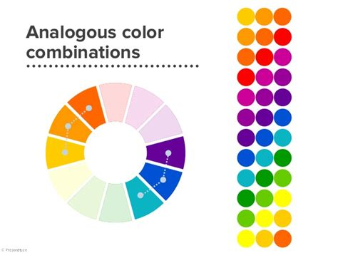 analogous color definition analogous colors exle