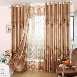 Grey Curtain Valance Fancy Noise Reducing Floral Embroidery Elegant Cool Window