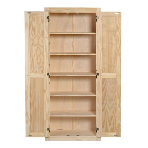 Pine Kitchen Pantry Cabi With Just Cabis Uquot Kitchen Large Kitchen Storage Cabinets