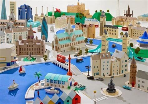 Make A 3d Paper City - paper towns by hattie newman