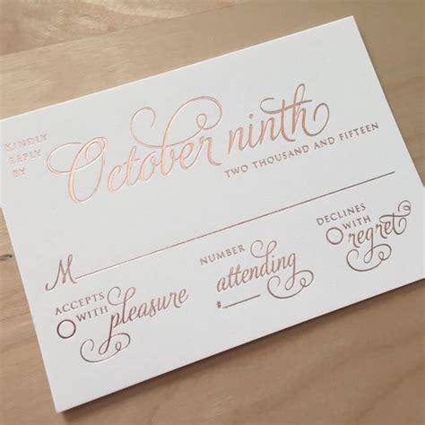 Rsvp In Wedding Cards