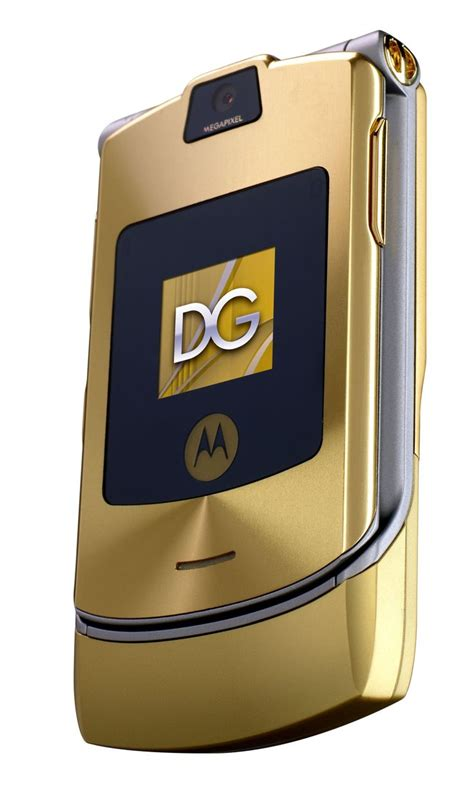 Gift It Gold Dolce Gabbana Razr V3i motorola razr v3i dolce gabbana unlocked phone with mp3