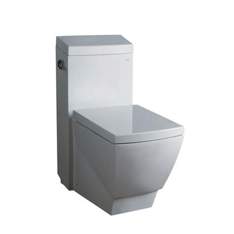 Square Toilet by Apus One Piece Square Toilet With Soft Close Seat Uvfftl2336