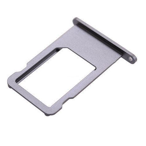 Black Sim Tray Metal sim card tray for iphone 6s 4 7 quot black