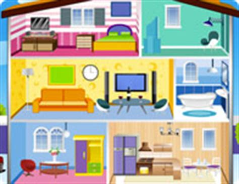 barbie doll house cartoon doll house girl games