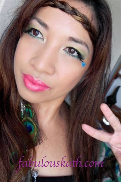 how to apply hippie makeup 10 steps with pictures wikihow hippie flower child makeup hair easy halloween looks