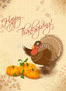 Free Thanksgiving Card Templates Vector Thanksgiving Card Design Template Eps Ai File Free