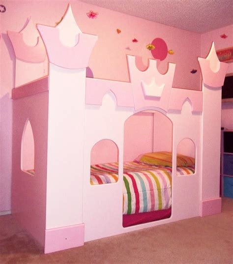 princes bed castle princess bedroom simple home decoration