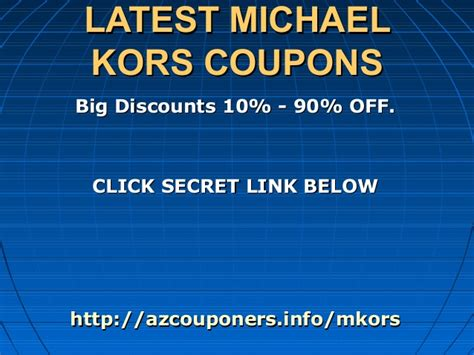 michael kors promo code discounts coupons 2015 michael kors coupon dec 2015 mkonline