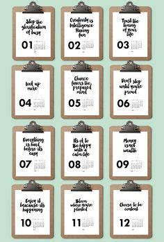 printable quote calendar 2016 2017 printable quotes calendar printable doodle calendar