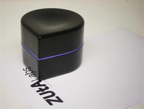 Printer Mini zuta a portable robotic printer as small as a paperweight