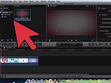 final cut pro add text how to add text over video in final cut pro 13 steps