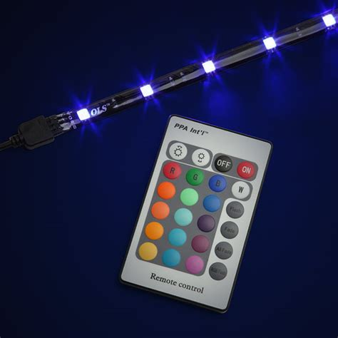 Multi Color Led Lights multi color led lighting kit thinkgeek