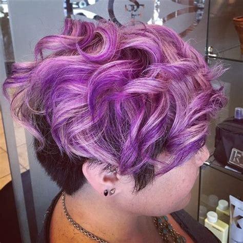 22 sassy purple highlighted hairstyles for short medium 22 sassy purple highlighted hairstyles for short medium