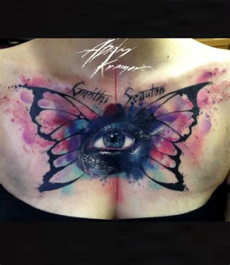 tattoo eye with wings butterfly wings with eyes tattoo