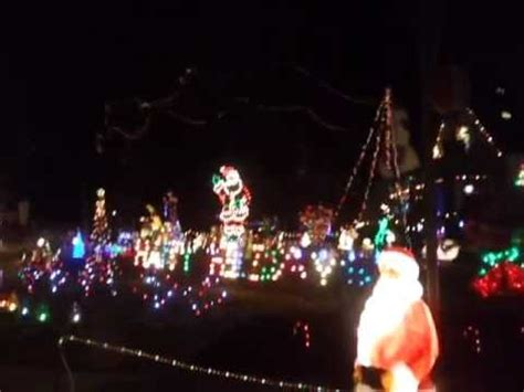 worst christmas light displays the worst lights in piqua