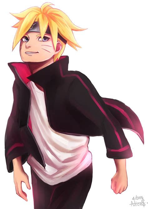 fanart anime boruto uzumaki fanart anime version by alicedollars on