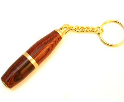 Key Chain Cigar Punch Pembolong Cerutu mrs brog cigar punch cutter rosewood key chain home garden accessories cutters punches
