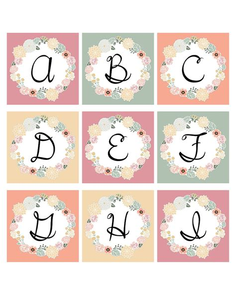 printable alphabet decorations happy valentines and a great gift for you note cards