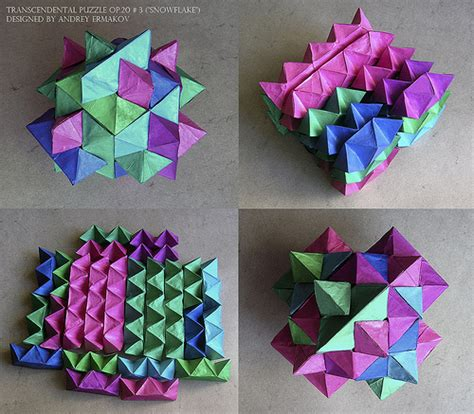 How To Make A Paper Puzzle - the origami forum view topic origami puzzle challenge
